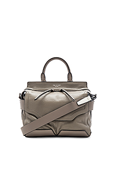 Small Pilot Satchel in Stone