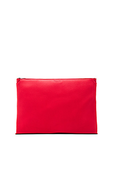 Large Pouch in Crimson