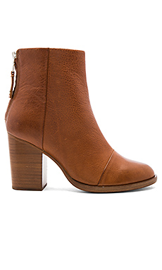 Ashby Ankle High Bootie in Tan