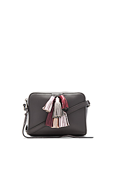 Mini Sofia Crossbody Bag in New Grey Metallic