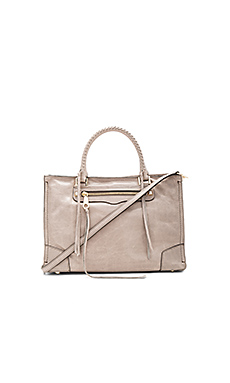 Regan Satchel Bag in Mushroom