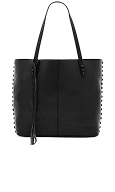 Medium Unlined Tote in Black