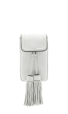 Isobel Phone Crossbody in Optic White