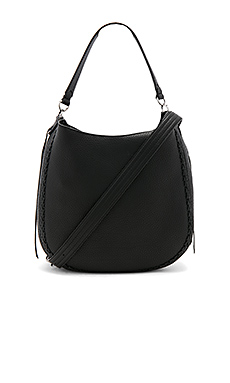 Unlined Convertible Hobo – 黑色