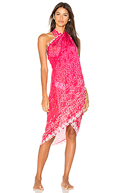 Embroidered Sarong en Rose