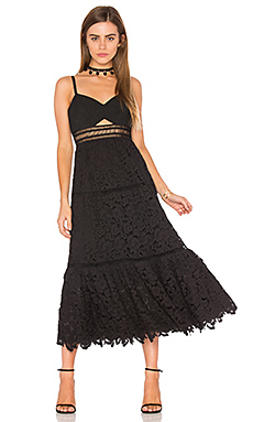 Sleeveless Lace Dress – 黑色