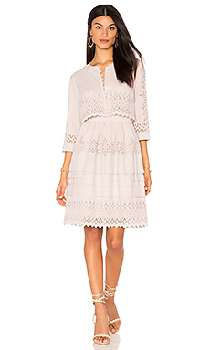 Long Sleeve Adeline Embroidered Dress – 玫瑰花蕾