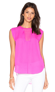 Charlie Top in Fuchsia