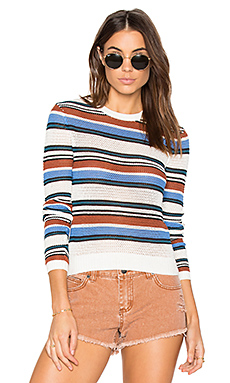 Polly Cropped Sweater in Multi