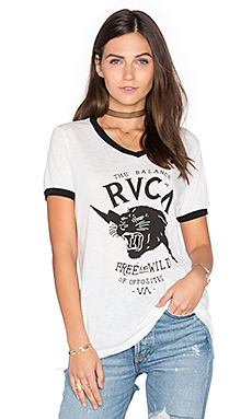 FREE & WILD T恤