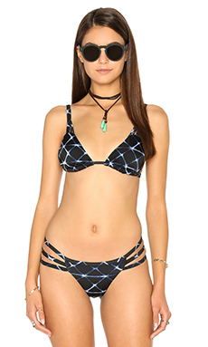 HAUT DE MAILLOT DE BAIN CRYSTALIZED
