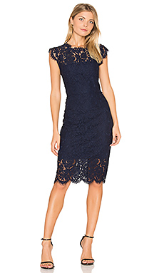Suzette Dress in Navy