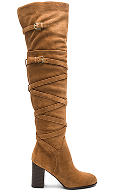 Sable Boot en Daim Camel