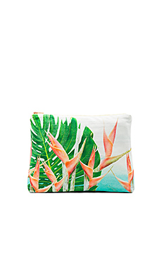 Surf Jaipur Original Pouch in Heleconia Dream