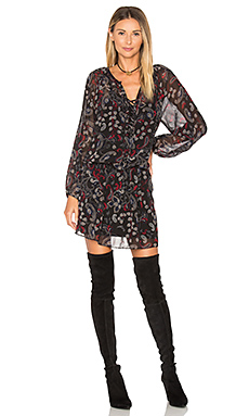 Cachet Boho Dress en Midnight Paisley