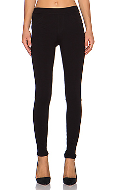 Grease Ponte Legging en Noir