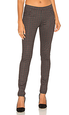 Grease Legging in Brick Harper Plaid