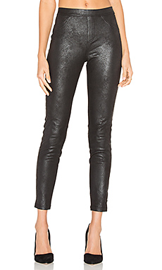 Original Grease Legging en Noir Enduit