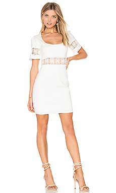 Crawford Dress in White