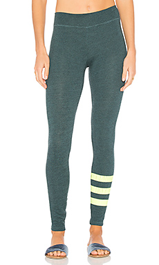 Stripes Yoga Pant en Heather River