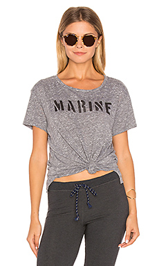 T-SHIRT LOOSE MARINE