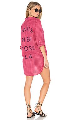 PARIS NY LA 超大码衬衫