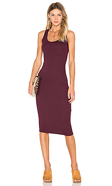 Ora Dress in Burgundy