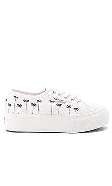 2790 Palm Tree Sneaker en Blanc