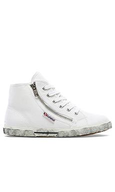 Cotdu High Top en Blanc