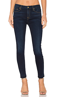 The Ankle Released Hem Skinny en Tranquil Blue