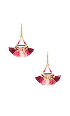 Lilu Earring in Fuchsia