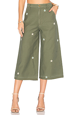 Loretta Military Wide Leg – Jungle Bud