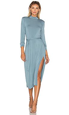 Follow You Midi Dress in Blue