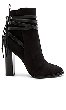 Gaybel Bootie in Black Nubuck