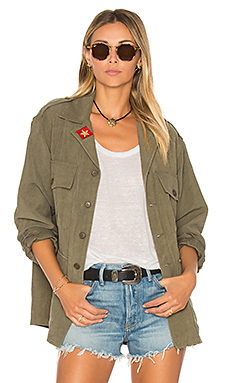 Army Shirt Jacket – Distressed Surplus