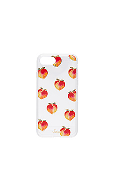 Peachy Keen iPhone 7 Case en Clear
