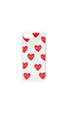 Fancy Heart iPhone 7 Case en Clear