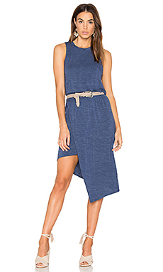 Hi Low Tank Dress en Moonlight Blue