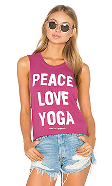 DÉBARDEUR PEACE LOVE & YOGA