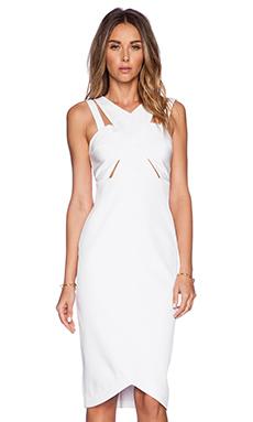 Parallel Dress en Blanc