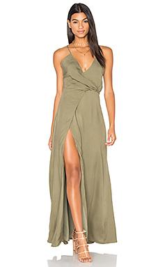 Marna Maxi Dress in Khaki