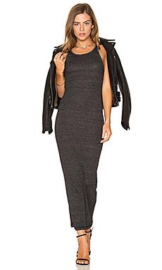 Rib Maxi Dress – 黑色