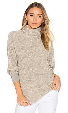 Turtleneck Sweater in Cream