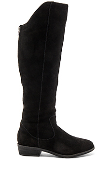 Emmery Boot in Black Suede