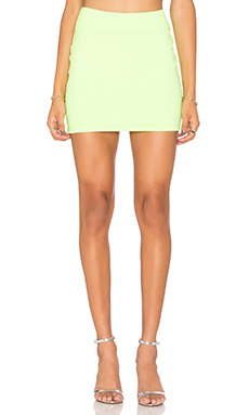 Slim Skirt en Neon Lime