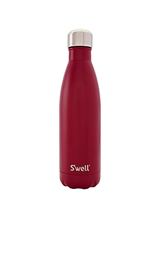 Satin 17oz Water Bottle – Velvet Crimson