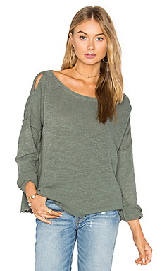 Lupe Top in Olive