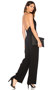 Sexy Town Jumpsuit in Black