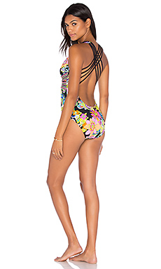 Cross Back One Piece in Multi