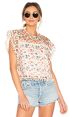 Kennedy Top en Rainbow Lace
